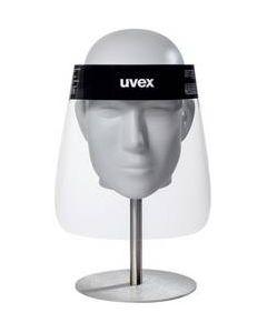 Visiera di protezione Uvex con lenti trasparenti