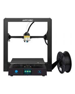 ANYCUBIC MEGA-X Stampante 3D FDM con un volume di stampa di 300x300x305mm con doppia vite per l'asse Z, piatto riscaldato ULTRABase e supporto di PLA, ABS, TPU