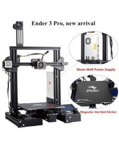 Creality Ender 3 Pro Stampante 3D con Aggiornamento Cmagnet Costruisci Piastra di Superficie e Alimentatore Certificato UL 220*220*250mm Dimensioni di Stampa