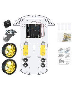Kits de bricolage pour châssis de voiture intelligente avec Tracking Speed et Tacho Encoder pour Raspberry Pi