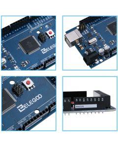 ELEGOO Mega R3 Board ATmega2560 + Cavo USB Compatibile con UNOR3 Blue