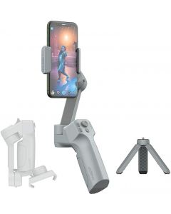 MOZA Mini-MX Ricondizionato 3-Axis Gimbal Stabilizzatore per Smartphone Vlog yandex Live Video Record Pieghevole del Giunto cardanico Supporto Nativo Camera Control (Ricondizionato)