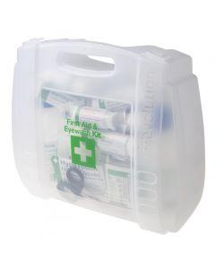 Kit di primo soccorso e kit lavaggio occhi RS PRO, 350mm x 300 mm